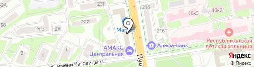 ВолгаWolga на карте Ижевска