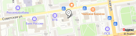 Dublin на карте Ижевска