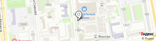 Электрик на карте Ижевска