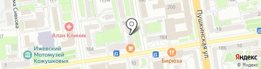 Магазин оптовых цен на карте Ижевска