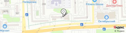 Мартьяновские просторы на карте Ижевска