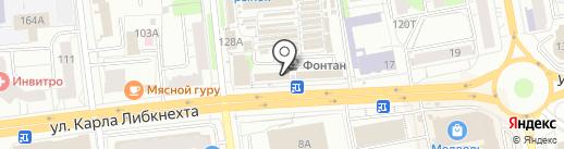 Лайк стрижка на карте Ижевска