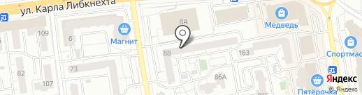 Красноармейская 88, ТСЖ на карте Ижевска