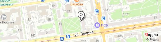 Автомалыш на карте Ижевска