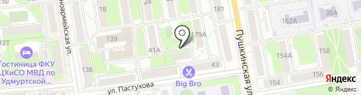 Студия красоты и здоровья Марии Каменцевой на карте Ижевска