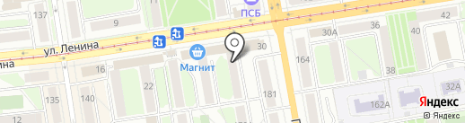 Vertera на карте Ижевска