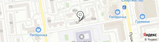 Адвокатский кабинет Кислухина А.А. на карте Ижевска
