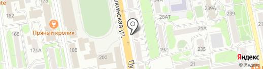 Кутюр на карте Ижевска