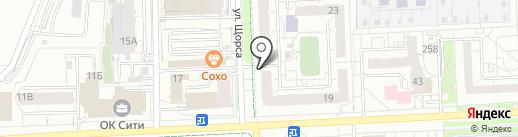 Фрейя на карте Ижевска