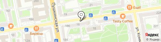 Союзтехносервис на карте Ижевска