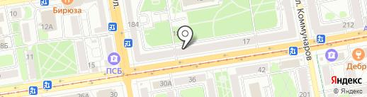 Пинта на карте Ижевска