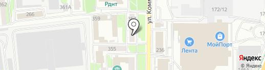 VIN18.RU на карте Ижевска
