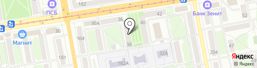 Личное право на карте Ижевска
