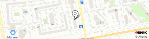 ВЕЛЕС на карте Ижевска