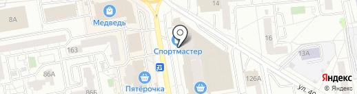 Transfer18 на карте Ижевска