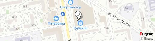 Грифель на карте Ижевска