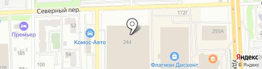 Виона на карте Ижевска