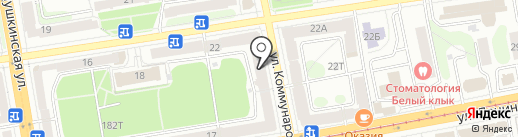 МИР ОЦЕНКИ на карте Ижевска