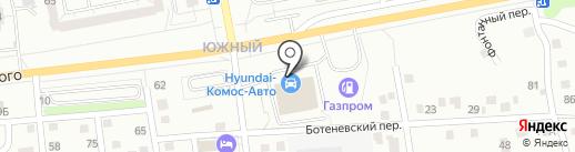 Peugeot на карте Ижевска