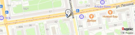 ИЖ-ТРАНС ХОЛОД на карте Ижевска