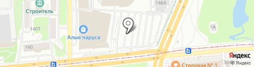 Кемпинг18 на карте Ижевска