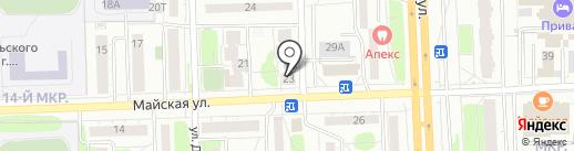 Мегапресс на карте Ижевска