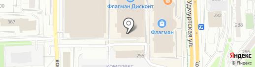 Росгосстрах, ПАО на карте Ижевска