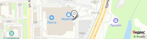 Медиа Спрей на карте Ижевска
