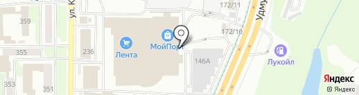 Мебель Дом на карте Ижевска