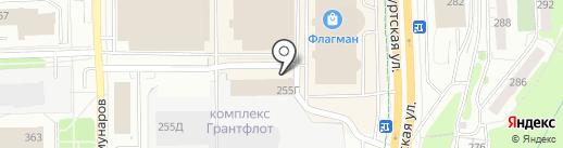 Work5 на карте Ижевска