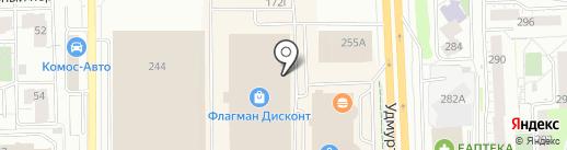 ВУАЛЯ на карте Ижевска
