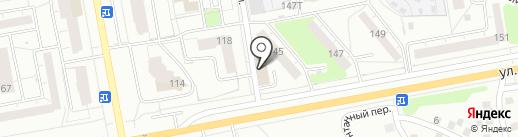 Метаком на карте Ижевска