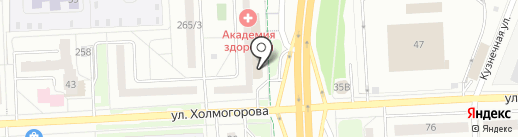 Ижевские матрасы на карте Ижевска