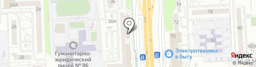 Высота на карте Ижевска