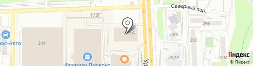 Скидка Визитка на карте Ижевска