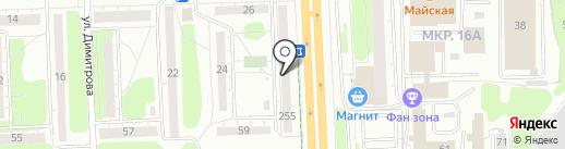 Балаган приколов на карте Ижевска