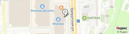 UP! на карте Ижевска