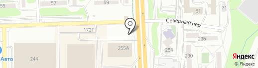 Полюс-авто на карте Ижевска