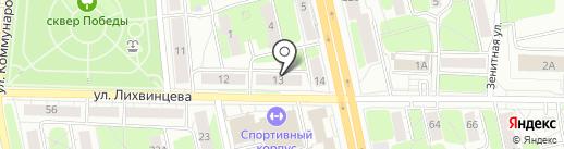 Иж-Монолит сервис на карте Ижевска