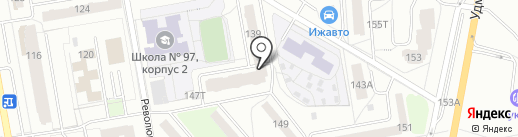 IQ007 на карте Ижевска