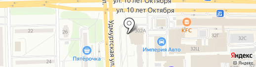 Ardoni на карте Ижевска
