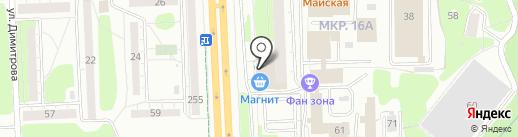 Эко-водоканал на карте Ижевска