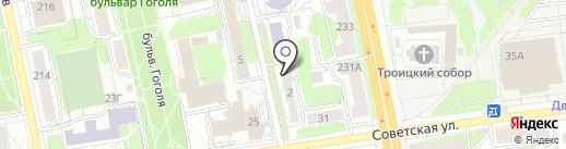 Graffiti на карте Ижевска