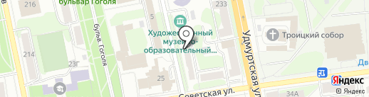 Кабинет психолога на карте Ижевска