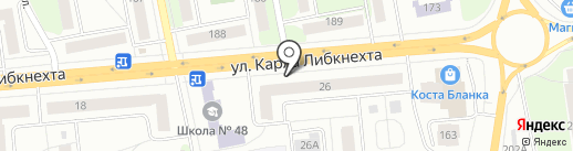 Карла Либкнехта 26, ТСЖ на карте Ижевска