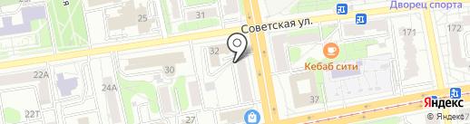 Языковед на карте Ижевска