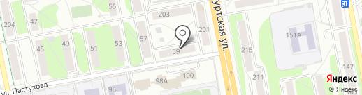 Деал Авто на карте Ижевска