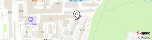 Mediaplayback на карте Ижевска