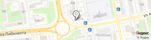 Магазин канцтоваров на карте Ижевска