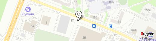 777 на карте Ижевска